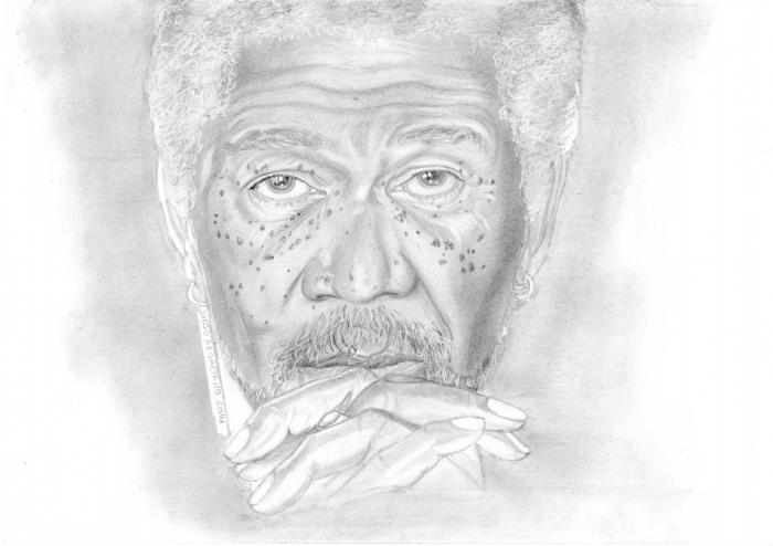 Morgan Freeman par Ddegaetano